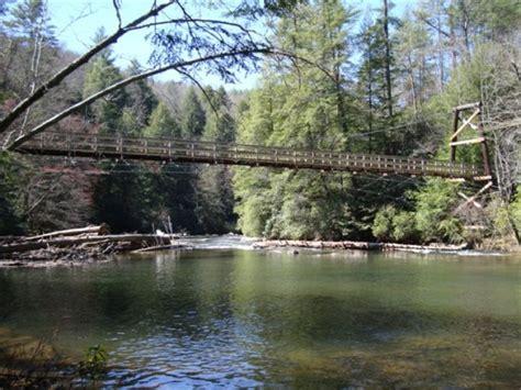 benton mckaye swinging bridge jpg 529x397